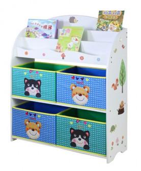 儿童玩具收纳架柜幼儿园宝宝书架