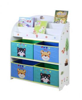 儿童玩具书柜幼儿园宝宝玩具收纳架