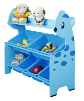 幼儿园儿童玩具收纳架书架
