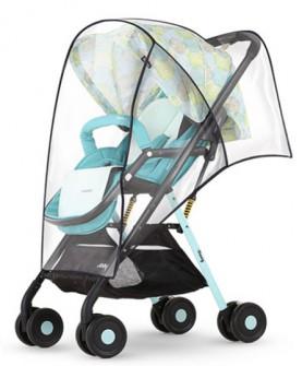 婴儿推车雨罩加厚婴儿车防风防雨罩儿童伞车雨罩推车挡风罩