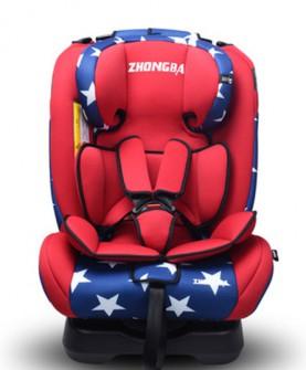 儿童安全座椅0-4-6-7-12岁汽车用婴儿宝宝车载座椅可坐躺正反安装
