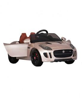 新款双驱捷豹儿童电动车宝宝玩具汽车遥控四轮可坐童车礼物
