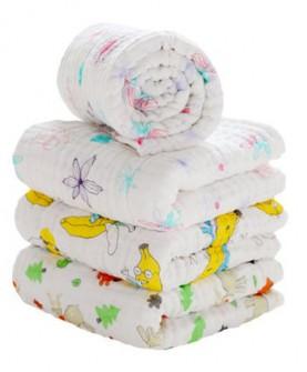 婴儿浴巾纯棉新生儿纱布宝宝超柔吸水加厚儿童毛巾