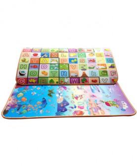 宝宝爬行垫婴儿爬爬垫双面加厚2.0cm爬行毯游戏垫