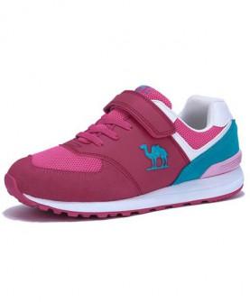 camel童鞋男童女童防滑耐磨休闲跑鞋 夏季舒适透气儿童跑步鞋