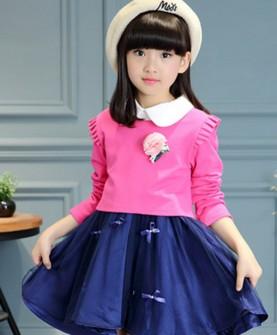 2017新款韩版上衣连衣裙两件套