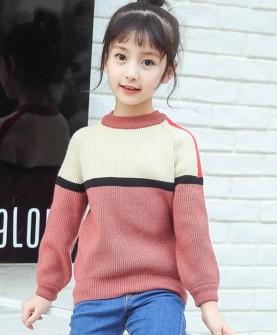 女童毛衣秋冬新款针织衫