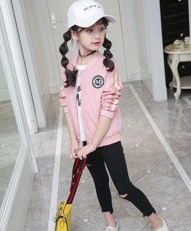 女童秋装新款短款外套