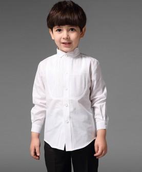 韩版儿童礼服衬衫男童