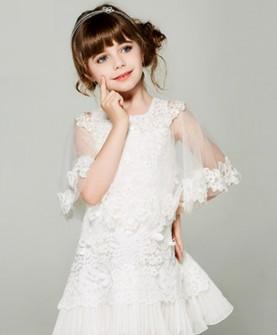 女童公主裙花童婚纱裙