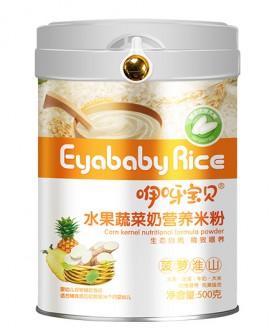 500克水果蔬菜粉营养米粉(菠萝淮山)