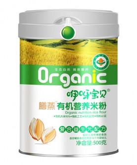 500克复合益生元配方有机营养米粉