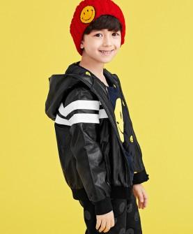 gxg kids童装秋新款男童连帽外套