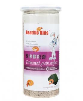 Beatific Kids虾仁紫菜味发酵颗粒面