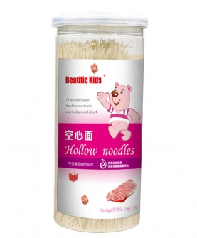 Beatific Kids牛肉味空心面