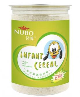 混合果蔬奶米粉