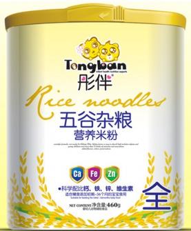五谷杂粮营养米粉桶装全段