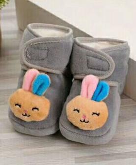 宝宝棉鞋-兔子款