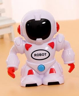 会唱歌机器人奶片-红色