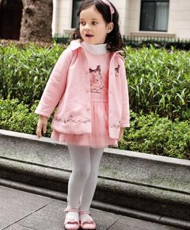 儿童套装大码(粉色)