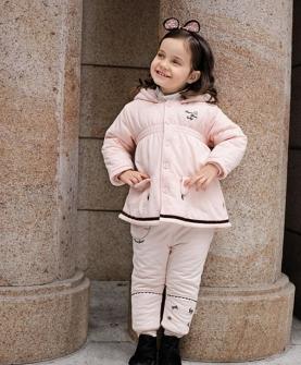 儿童套装粉色