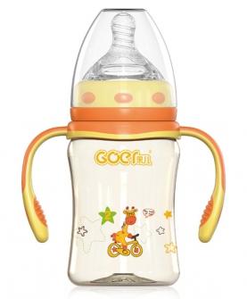 ppsu弧形奶瓶210ml