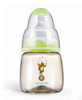 标口径初生用PPSU奶瓶