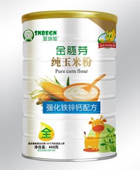 金胚芽纯玉米粉强化铁锌钙配方