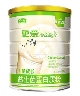 儿童成长益生菌蛋白质粉