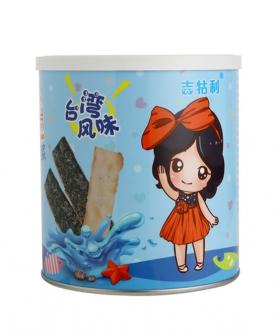 鲜鱼海苔脆片-盒装
