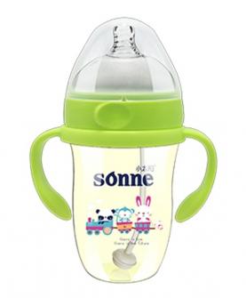 ppsu奶瓶-绿色