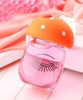 创意带盖蘑菇玻璃杯