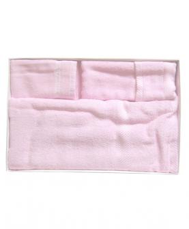 竹纤维方形浴巾礼盒