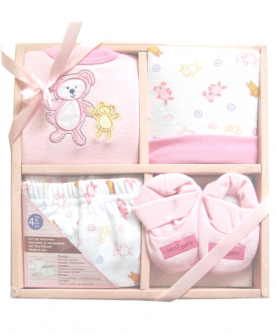 粉色套装礼盒
