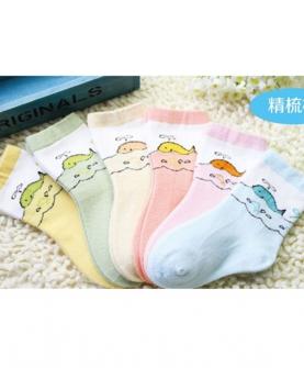 精梳棉婴童袜