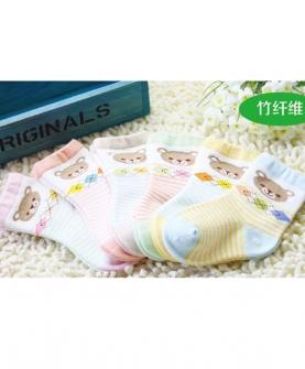 竹纤维婴童袜