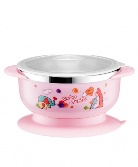 婴儿防摔辅食吸盘碗