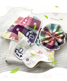 高端纯棉婴儿礼盒宝宝床品套装