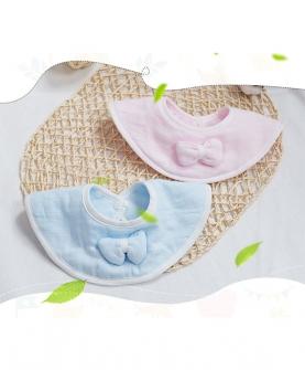 婴幼儿纱布专利暖棉款口水巾