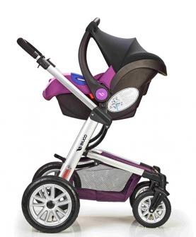 婴儿推车便携式高景观