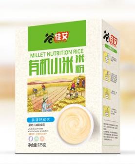 铁锌钙配方有机小米米粉