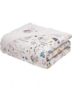 婴儿童床被套全纯棉