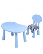 贝贝娇子幼儿园书桌椅子