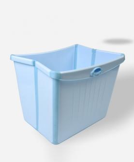 儿童可折叠洗澡桶