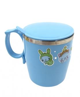 宝宝水杯不锈钢单耳杯子