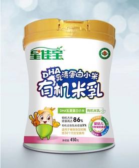 DHA乳清蛋白小米有机米乳