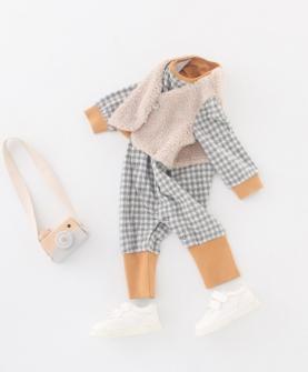 婴儿连体衣棉婴儿潮服哈衣秋装