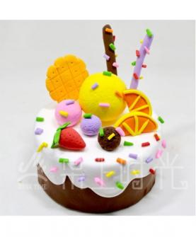 轻黏土蛋糕