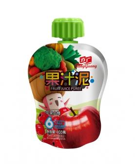苹果山楂果汁泥