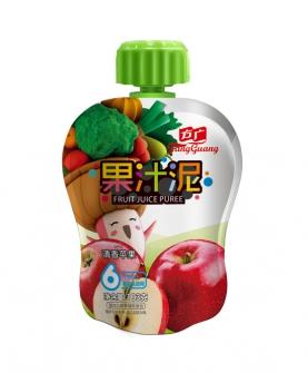 清香苹果果汁泥